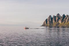 Tungeneset (bruit_silencieux) Tags: ocean travel nature norway canon landscape island norge europe roadtrip arctic lapland 7d fjord scandinavia moutains senja laponie tungeneset steinfjord sigma35mm14art