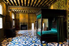 Bedroom in Chateau de Blois (aleruitte) Tags: lit blois chteau