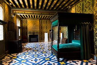 Bedroom in Chateau de Blois