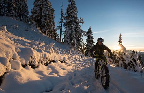 Garibaldi first snow and Paul Ridge Fat Bike ride Nov 3 2015-7