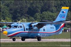LET L-410UVP Turbolet (Pavel Vanka) Tags: plane airplane fly aircraft airshow czechrepublic let spotting turboprop pardubice l410 turbolet clv czechairforce l410uvp aviationfair lkpd
