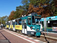 Potsdam (D) (Robert Leichsenring) Tags: tatra potsdam strassenbahn streetcar strasenbahn tramway kt4d tatrawagen