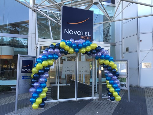 Ballonboog 7m Novotel Brainpark Rotterdam