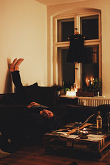 _Sapphire_ (Corentin Schieb) Tags: camera friends wild woman girl youth photography candles interior room young free sofa chilling cosy sapphire palettes corentin warmplace schieb