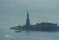 New York from One World Trade Center (Secondcity) Tags: newyork oneworldtradecenter hudsonriver statueofliberty libertyisland