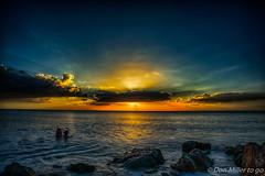 Golden Hour (DonMiller_ToGo) Tags: beachlife hdr florida caspersenbeach sunsetmadness sunsets 3xp water hdrphotography goldenhour sunsetsniper sky d810 outdoors clouds