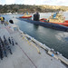 USS Alexandria (SSN 757) arrives pierside in its new homeport of San Diego.
