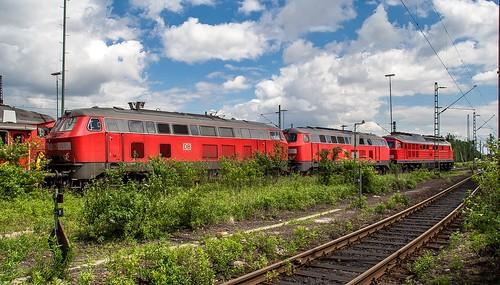 21.05.2006 Oberhausen Osterfeld. 2x DB 225, 232 100