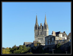Angers (Renaud49) Tags: st maurice cathdrale gothique angers angevin