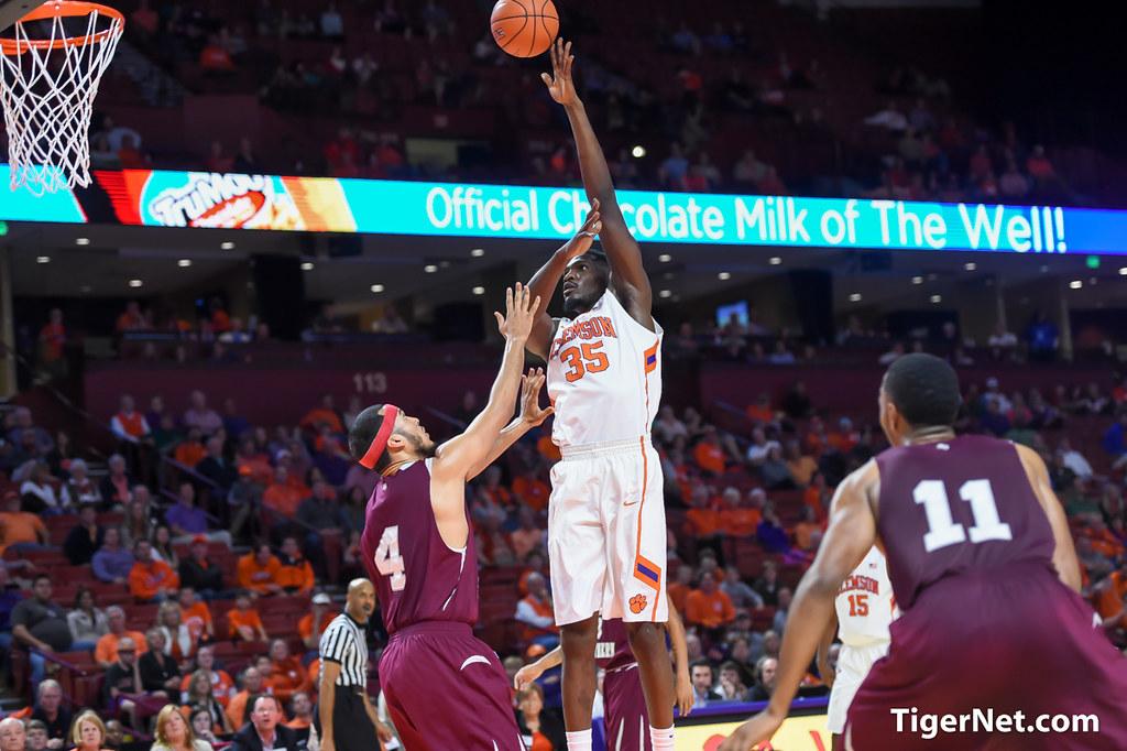 Clemson Photos: Landry  Nnoko, 20152016, Basketball