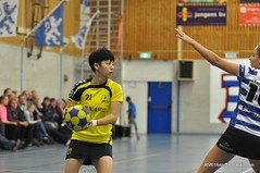 BW_Dalto_151219_12_DSC_7104 (RV_61, pics are all rights reserved) Tags: amsterdam korfbal blauwwit dalto korfballeague robvisser rvpics blauwwithal