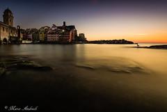 vernazza (marcodesmo796) Tags: longexposure sunset sea sky italy orange seascape water landscape rocks liguria nd cinqueterre vernazza gnd nikkor1635f4 nikond750