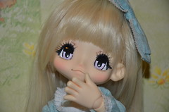 Joyce (anjav13) Tags: hello sugar blonde romantic milky frill azone kikipop
