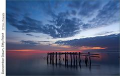 December Dawn, Fifty Point (jwvraets) Tags: lake water sunrise dawn nikon hamilton shoreline gimp niagara lakeontario nikkor opensource winona 1224mm grimsby niagaraescarpment d7100 rawtherapee fiftypoint
