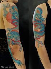 (RinzoTattoo) Tags: tattoo dragon oriental tatuagem irezumi drago japanesetattoo tatuagens tatuagio tatuagemfeminina tattoofeminino rinzotattoo rinzotattoostudio tattooemsbc tatuagememsbc