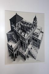 Impossible architecture (Can Pac Swire) Tags: holland art netherlands dutch museum kunst south nederland denhaag 74 thehague zuid mcescher langevoorhout koninkrijkdernederlanden escherinhetpaleis aimg2846