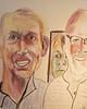 Surprise! (Gila Mosaics n'stuff) Tags: friends portrait mark duo prismacolor piecebypiececityartsfactoryorlando