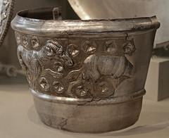 Hildesheim silver cauldron with goat ornaments (f_snarfel) Tags: hildesheim museumsinsel altesmuseumberlin antikensammlungberlin staatlichemuseenberlin hildesheimcauldron hildesheimkessel hildesheimsilvertreasure