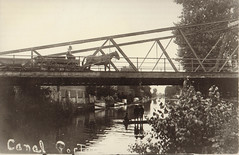 Canal, Horses Crossing Bridge, Boys Under