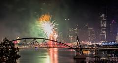 IMGP7318- Riverfire 2016 (womboyne7) Tags: explosion colours fireworks southbank bridge riverfire 2016 festival river brisbane queensland australia