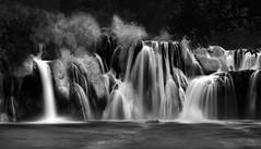Krka Falls II (Marshall Ward) Tags: krkafalls croatia krka marshallward nikond800 afszoomnikkor2470mmf28ged 2015 waterfalls waterfall landscape leefilters longexposure water mwardphotographycom