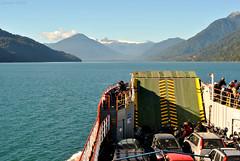 Cruzando los canales del sur (Javiera C) Tags: chile nature naturaleza ocean océano mar sea ship transbordador sail ferry landscape paisaje navegar
