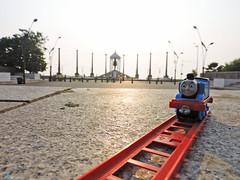 Thomas Reached Pondicherry (pondicherry arun) Tags: thomasfriends thomas kevin victor bash percy toy train pondicherry puducherry pondicherryarun