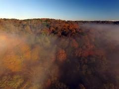Fog by river (ABDKHemings) Tags: drone dji fog