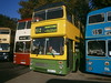 2989 @ Wythall Transport Museum (ianjpoole) Tags: the green bus mcw metrobus mk2a e989vuk 2989 wythall transport museum