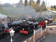 Bridgnorth MPD (Milton00147) Tags: steamlocomotives sevenvalleyrailway mpdshed railroad