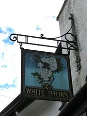 Pub sign White Thorn Shaugh Prior Devon IMG_8796 (rowchester) Tags: pub sign white thorn shaugh prior devon