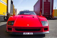 Sport & Collection 2012 - Ferrari F40 (Deux-Chevrons.com) Tags: ferrarif40 ferrari f40 car coche voiture auto automotive automobile sportcollection france poitiers levigeant vigeant le vienne 86 circuit supercar exotic exotics sportcar gt exclusive luxury luxe prestige