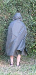 Rainmac-gruen-SDC18034 (Umhaenge2010) Tags: cape cloak cloack umhang regenumhang raincape capeimpermable