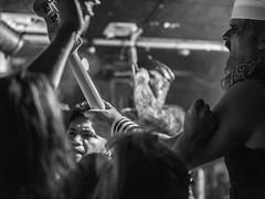 Turbonegro (morten f) Tags: turboneger turbonegro happy tom bass martins lillestrm 2016 live konsert concert turbojugend audience publikum blackandwhite monochrome indoor toneloki vocalist tony sylvester vokalist