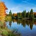 Autumn at Centennial Park Lake