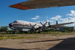 T & G Aviation / Douglas DC-7B / N51701 / KDMA (_Wouter Cooremans) Tags: pima spotting spotter avgeek pimaair pimaairspacemuseum pimaairspace aviation airplanespotting t g douglas dc7b n51701 kdma tgaviation douglasdc7b