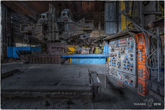 I mean, it's a complicated piece of machinery... (Yamabxl) Tags: abandoned abbandonato belgium creepy decay derelict dereliction steelworks steel usine acirie industry industrie industrial ghost hdr highdynamicrange hidden lostplaces prohibed prohib urbex urbanexploration urbexhdr verfall verlassen verlaten