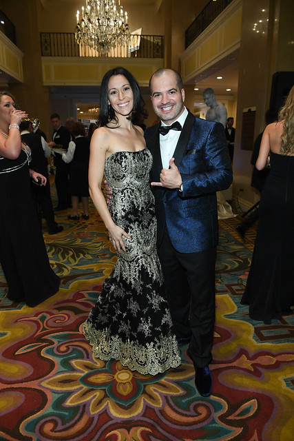 Top Choice Awards founder David Sylvester, CEO & Monica Couto, President, smiling for the camera at the Top Choice Awards 2016