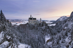 Everything In Its Right Place (brunopintophotography) Tags: brunopinto germany bavaria neuschwanstein castle marienbrcke bradmehldautrio jazz autumn snow sunrise bluehour