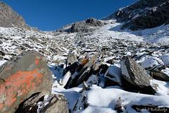 Ascent (Vinchel) Tags: china sichuan siguniang trek outdoor mountain hiking fuji xt2 1655mm f28 landscape sport ridge mountainside rock hill travel arete
