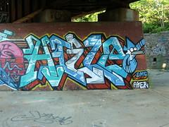 06-05-12 (205) (This Guy...) Tags: graf graff graffiti mil milwaukee wi wisconsin 2012 therd ctw tko hielo boob boobs boobie tit titty nude