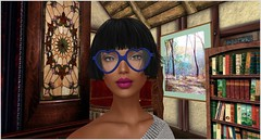 Geek Style (*~ Negly ~*) Tags: bubbles {blb} designershowcase cestlavie rucatease duragirl amarabeauty aliud thereadersnook secondlife style geek fashion books blogger faith fashionblog