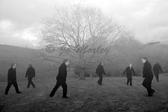 Inspired by Ben Zank (Jo_Morley) Tags: ben zank black white bw monochrome tones clone clones tone contrast tree inspired by photography benzank photoshop watermark blackandwhite england rivington unitedkingdom uk surreal surrealism outside outdoor environment britain walking walk man male sony