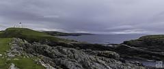 Panorama of Strathy Point (Julien Ruff Photos) Tags: nc500 uk lighthouse sea landscape highlands strathy scotland ecosse phare nikon d7100 julienruffphotos
