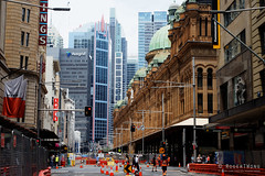 20161030-21-Roadworks for light rail (Roger T Wong) Tags: 2016 australia nsw newsouthwales queenvictoriabuilding rogertwong sel2470z sony2470 sonya7ii sonyalpha7ii sonyfe2470mmf4zaosscarlzeissvariotessart sonyilce7m2 sydney