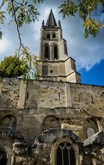 St Emilion (baptiste.mesnier) Tags: église saintémilion bordeaux