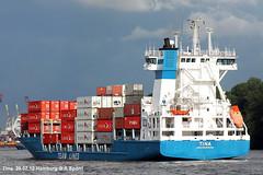Tina (andreasspoerri) Tags: containerschiff gotland hamburg imo9277383 niederlanden sietas tina