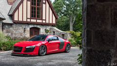 Stasis. (Jon Wheel) Tags: audi r8 stasis connecticut castle exotic supercar