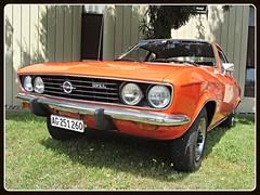Opel Manta A (v8dub) Tags: opel manta a schweiz suisse switzerland german gm pkw voiture car wagen worldcars auto automobile automotive old oldtimer oldcar klassik classic collector