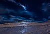 Eyjafjordur Iceland (Einar Schioth) Tags: eyjafjordur winter sky canon clouds cloud mountains mountain moon moonlight night evening snow oldpic nationalgeographic ngc landscape photo picture outdoor iceland ísland ice einarschioth